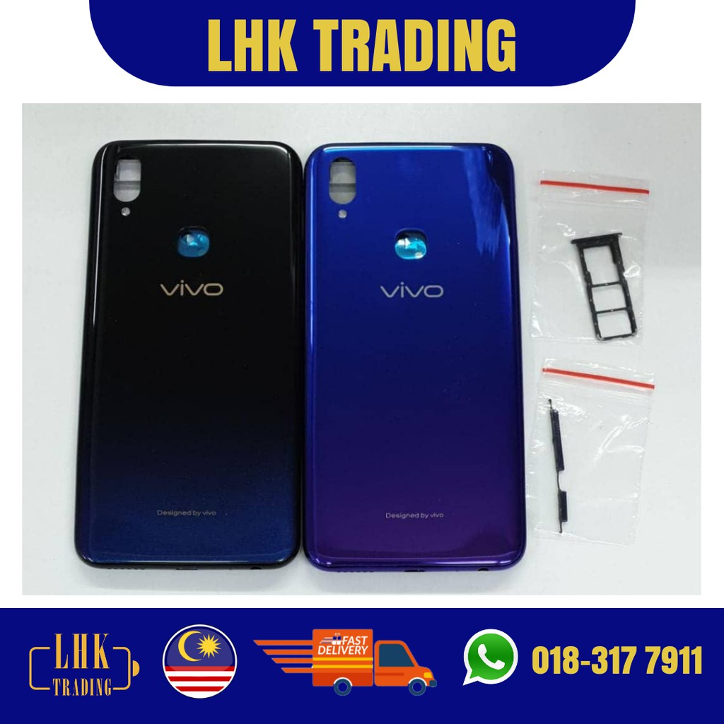 READY STOCK !! Original Vivo V11i Full Set Housing Body Back Battery Cover