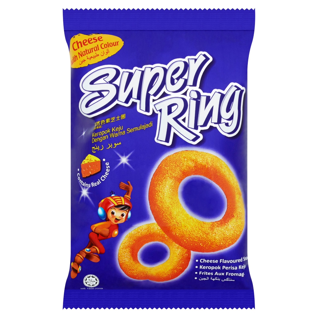 Oriental Super Ring Cheese Flavoured Snacks 60g