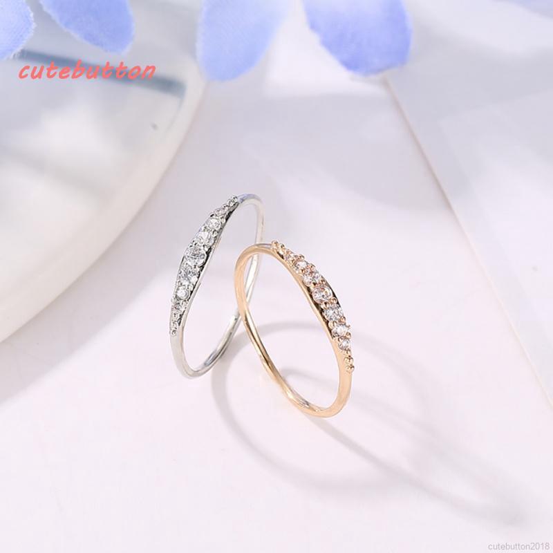 68f0bbdc72741 ✨ cutebu ღ Simple Women Round Full Bling Rings Wedding Party Gifts ...