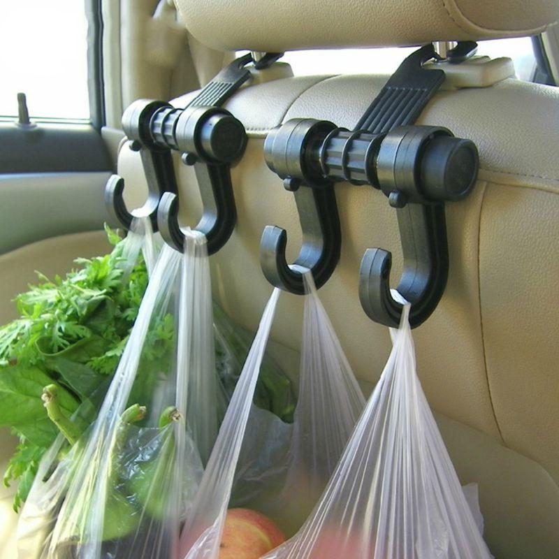 Car Seat Back Storage Hook Sundries Hanger Bag Holder
