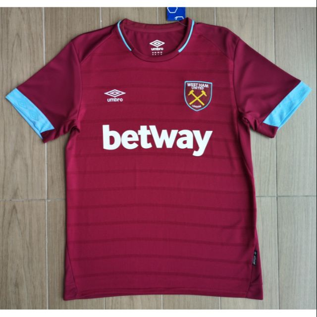 detailed look ca52b 3f813 ⚽ WEST HAM UNITED HOME JERSEY 2018/2019 (OFFICIAL) - FAN ISSUE.