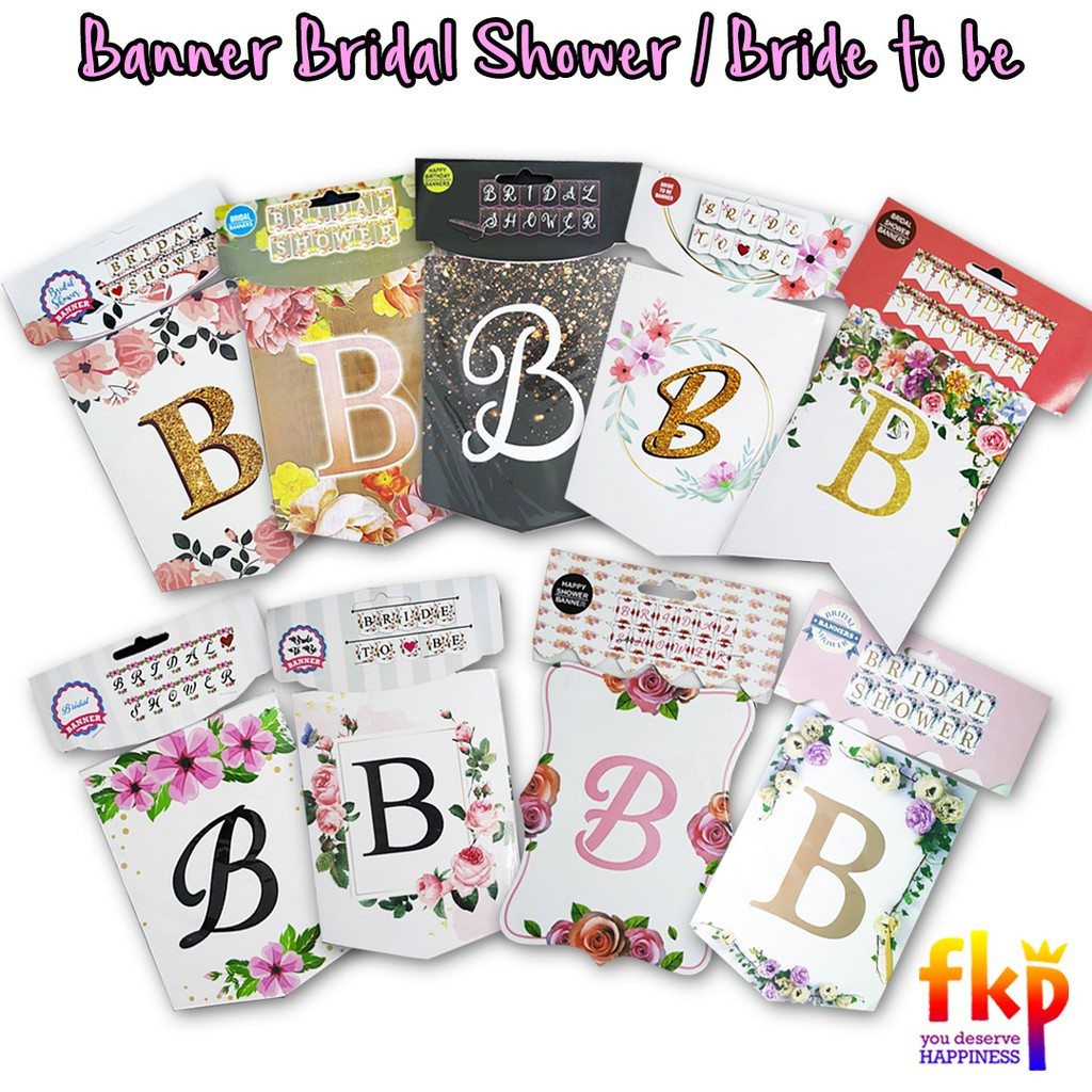 Fun Kids Party - Bridal Shower Banner / Bride To Be / Bridal In Bridal Shower Banner Template