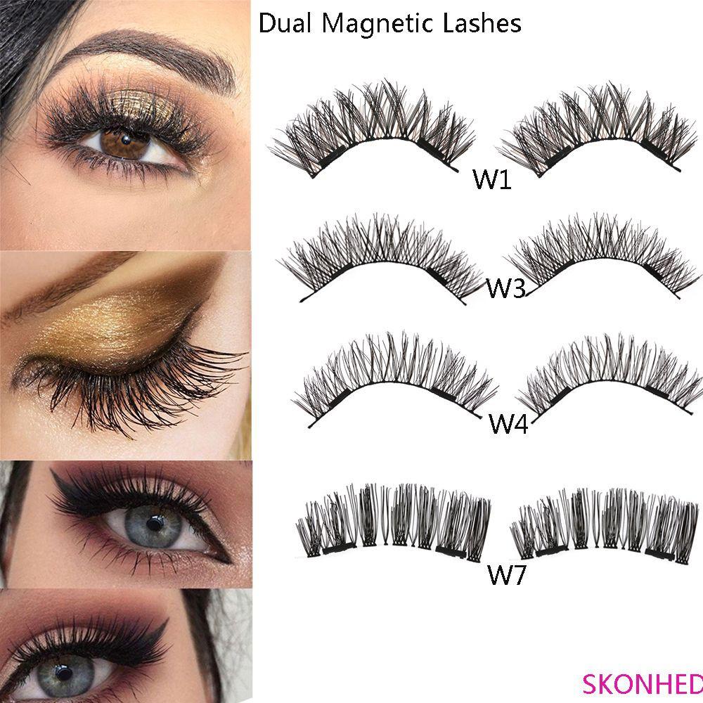 c1c9b552e34 ProductImage. ProductImage. SKONHED 4 Pcs Magnets False Eyelashes Glue-free  Lashes Eye Lashes Extension