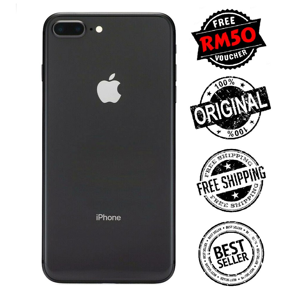 Ori 🇲🇾 iPhone 8 Plus 256GB MY Set (Malaysia Set) Premium Used 99% New [1 Month Warranty] RM50 Retrons Voucher