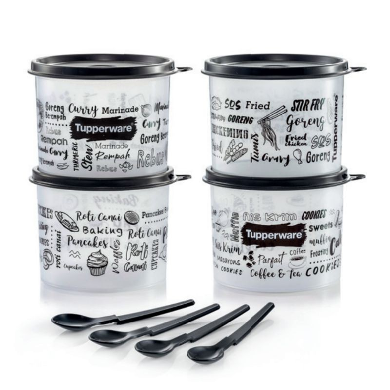 READY STOCK Tupperware: Trendz Kitchenette Junior Set 570ml