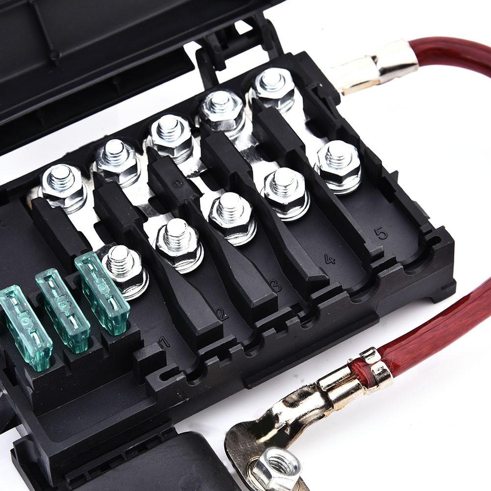 5 Way Car Fuse Box Holder Battery Terminal Block Shopee Malaysia Skoda Octavia 2