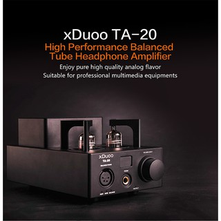XDUOO TA-20 12AU7 HIFI AUDIO High Performance Balanced Tube