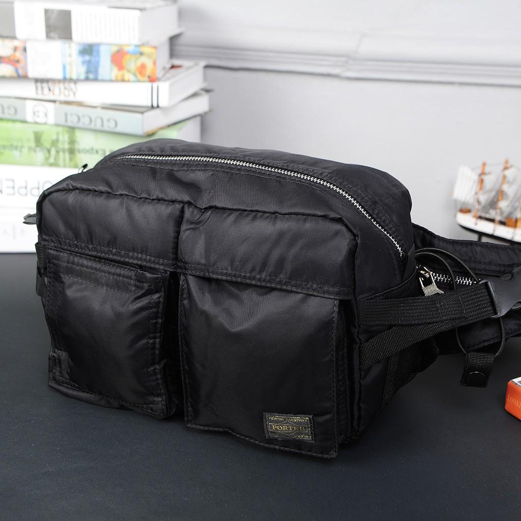 Porter Japan Yoshida Large Waist bag with clip shoulder bag  Waterproof  nylon   a129af2e52679