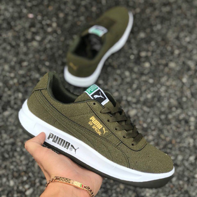 new products 76f46 2fb13 PUMA GV SPECIAL OLIVE GREEN