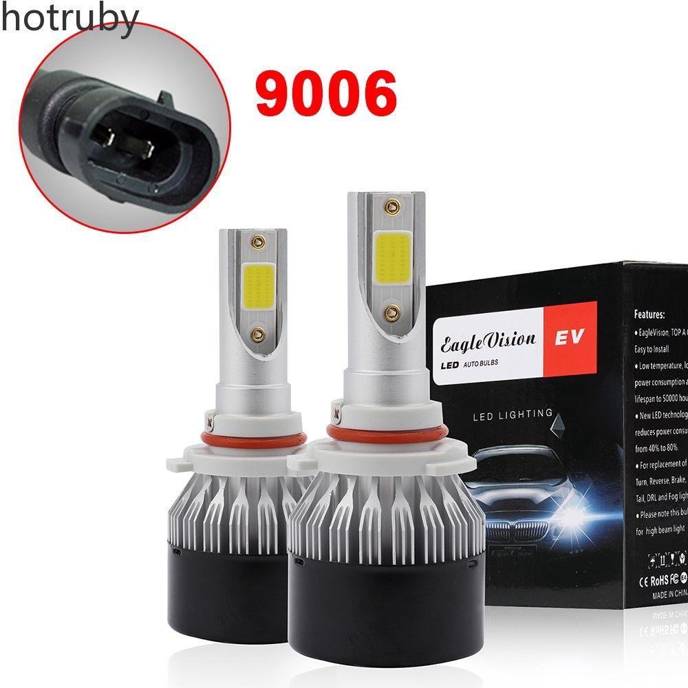 220W LED H3 Car Headlight Hi Lo Beam DRL Fog Lamp Bulb 6000K Kit Instant Startup
