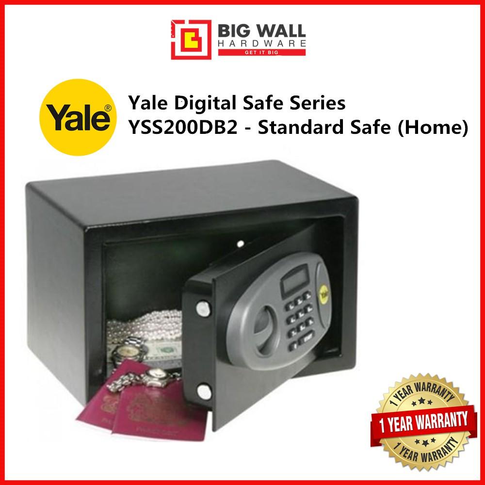 Yale Digital Safe Series YSS/200/DB2 Standard Digital Safe (Home) Safety Box Peti keselamatan 保险箱