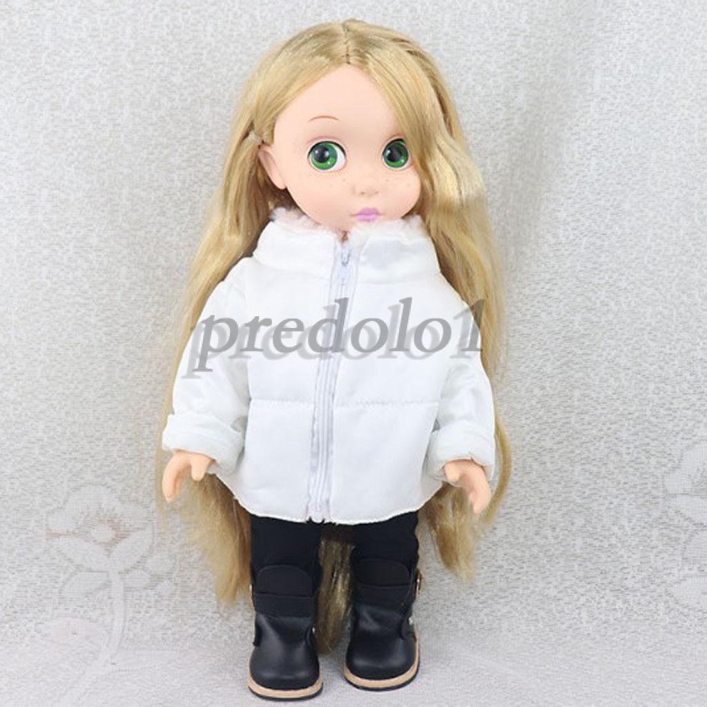 2pcs Fashion Mini Gray Coat Pants Suit for 25cm Mellchan Girl Doll Costume
