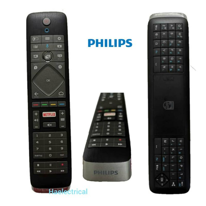 Philips smart led TV remote control with keyboard