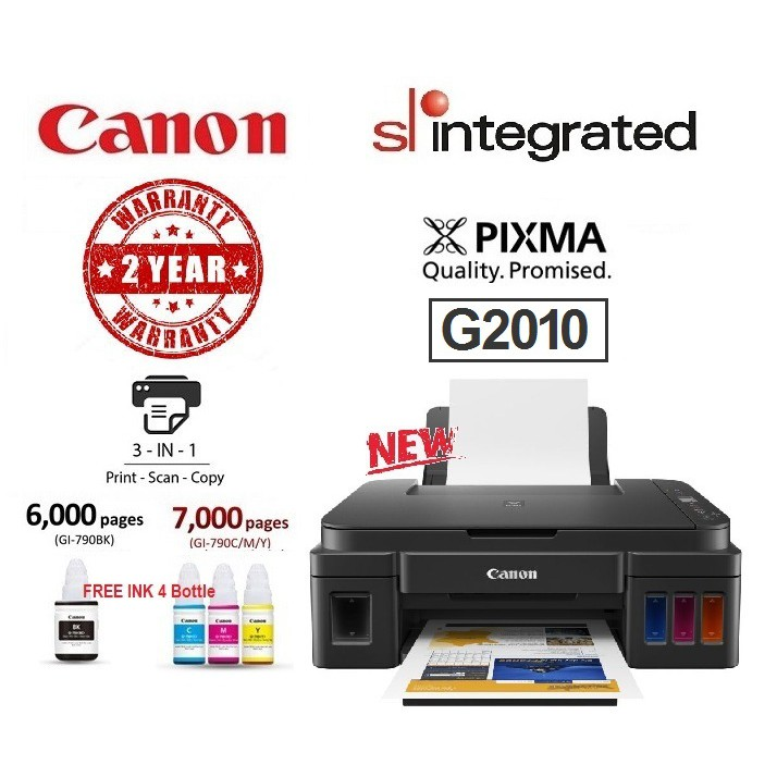 🔥HOT🔥Canon Pixma G2010 Refillable Ink Tank AIO Printer w/LCD indicator