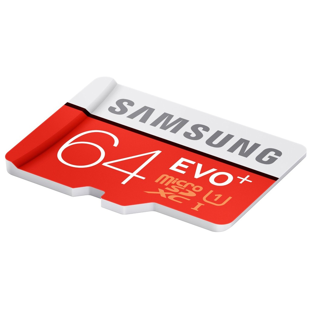 Samsung 64GB EVO Plus with Adapter 80mb/s (MB-MC64DA) Samsung Malaysia Warranty