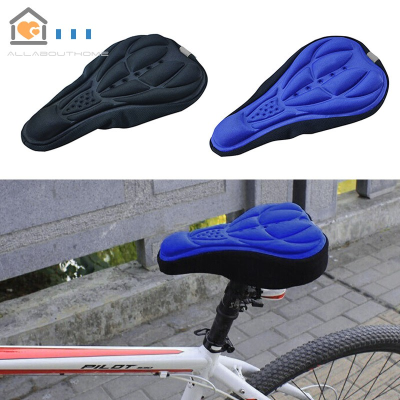 US Bicycle 3D Gel Silicone Saddle Seat Cover Pad Padded Soft Cushion Comfort SE