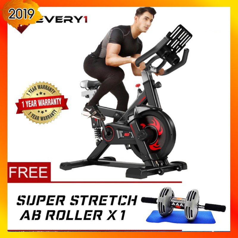 EVERY1 (BIOS636) Model Indoor Fitness Exercise Bike Cycling Bike Workout Gym