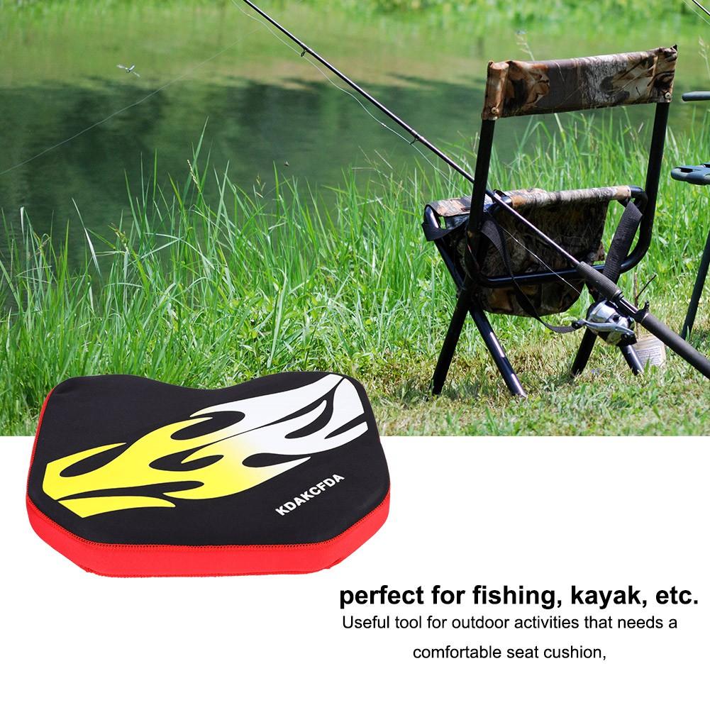 Kayak Seat Cushion Canoe Seat Pad Dinghy Fishing Boat Thicken Padded Pad