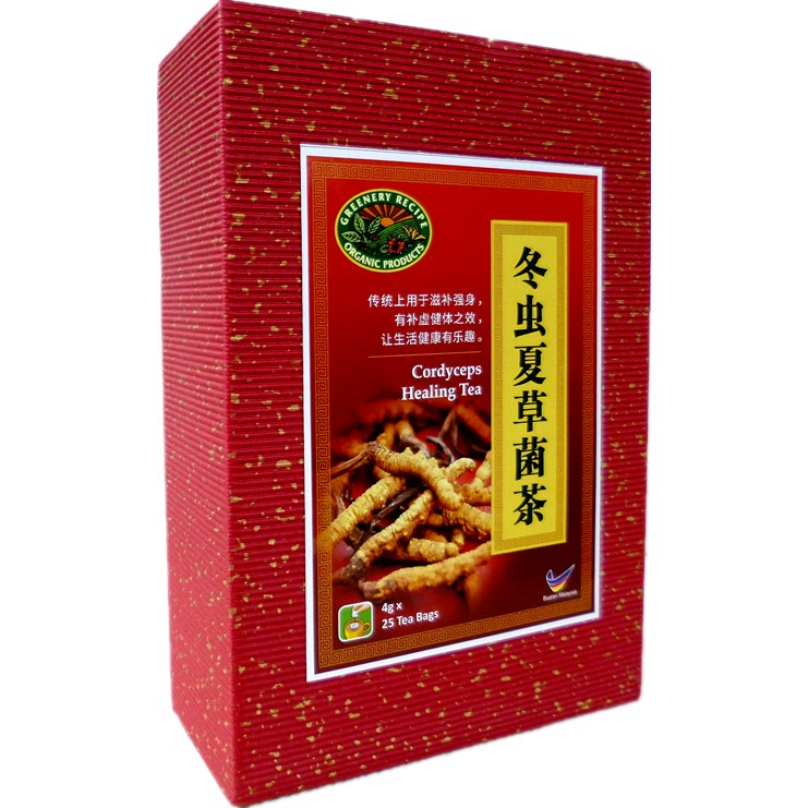 Cordyceps Healing Tea:Tonify Body 冬虫夏草菌茶:滋补强身