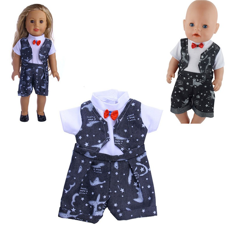 Handmade Doll Clothes Fit 43cm Baby Born Zapf 18 Inch American Girl Dolls  280c087876eb