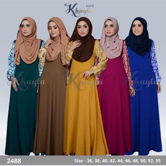 d3d30ba3e6 Middle East Women Abaya Garment Muslim Robe Dress Islamic Abayas Dresses  for | Shopee Malaysia