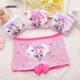 cc1605435 Ameesi Kids Children Baby Cartoon Bunny Rabbit Striped Underwear Panties  Briefs | Shopee Malaysia