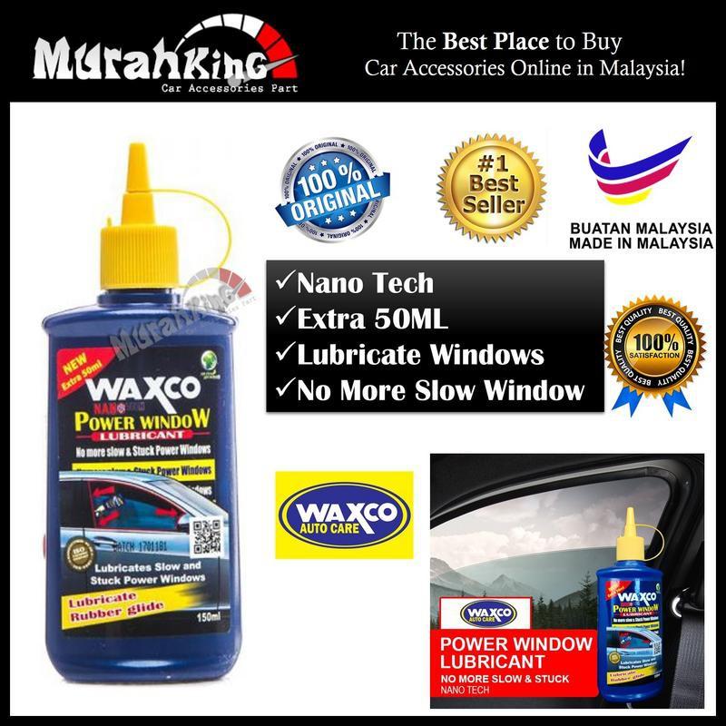 Genuine WAXCO POWER WINDOW LUBRICANT 150ML | Shopee Malaysia