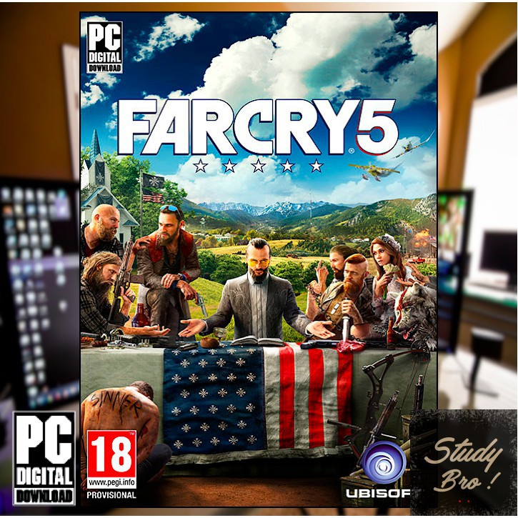 Far Cry 5 - PC OFFLINE Game [Digital Download] | PC GAME