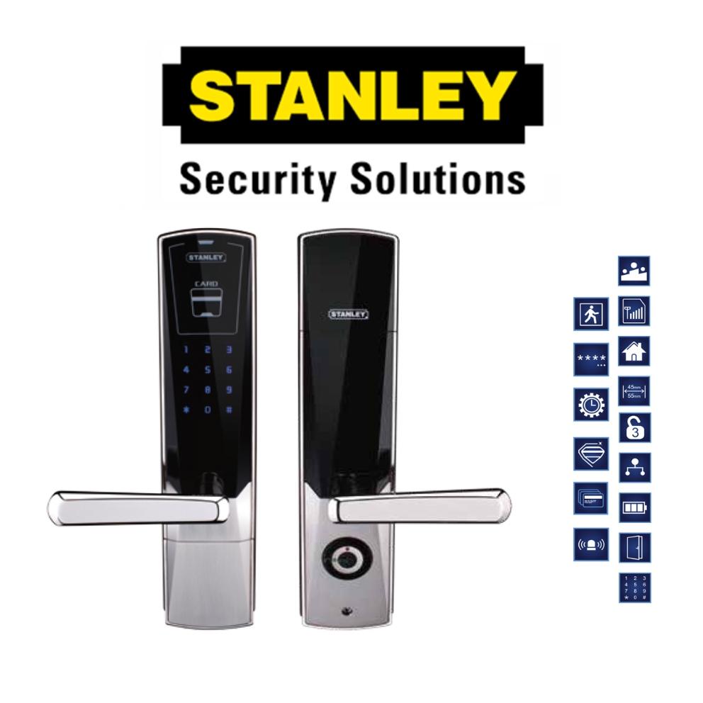 STANLEY SM100 DIGITAL DOOR LOCK M100 PROXIMITY CAR AND COMBINATION CODED LOCK  ( 6 MONTH WARRANTY )
