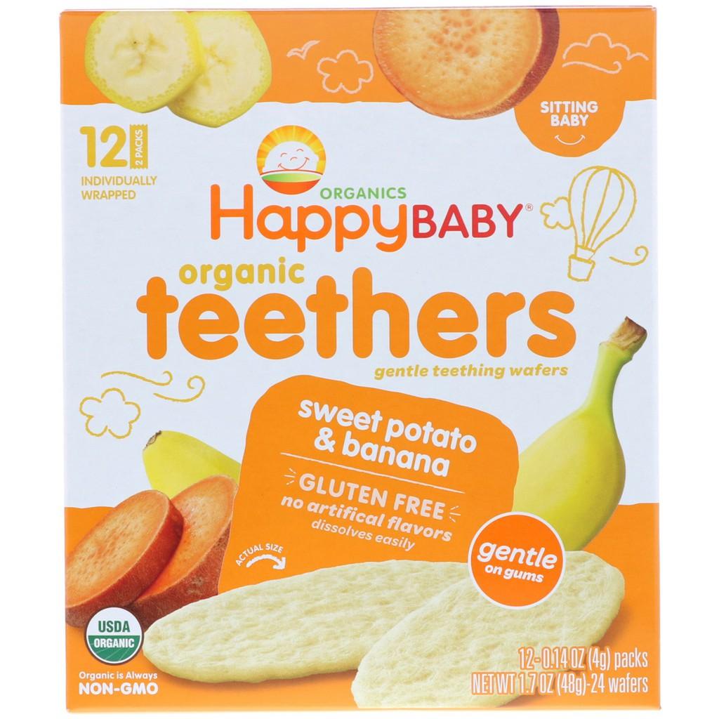 Happy Baby Organic Gentle Teethers Wafers