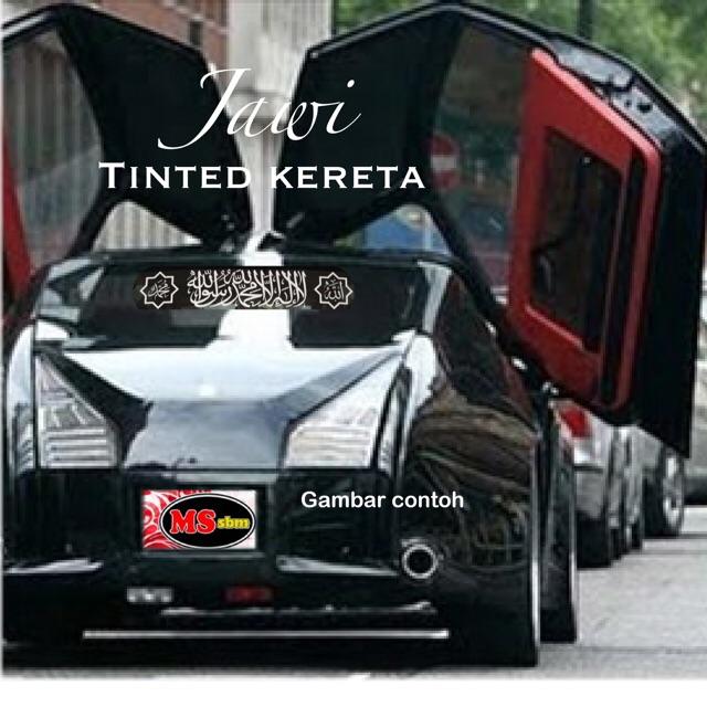 Jawi Tinted Cermin Kereta