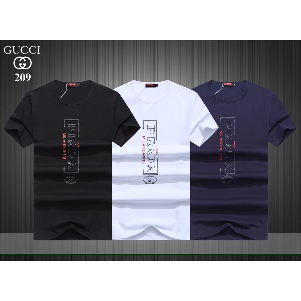 c9818b4dd gucci shirt - T-shirts & Singlets Prices and Promotions - Men Clothes Jul  2019 | Shopee Malaysia