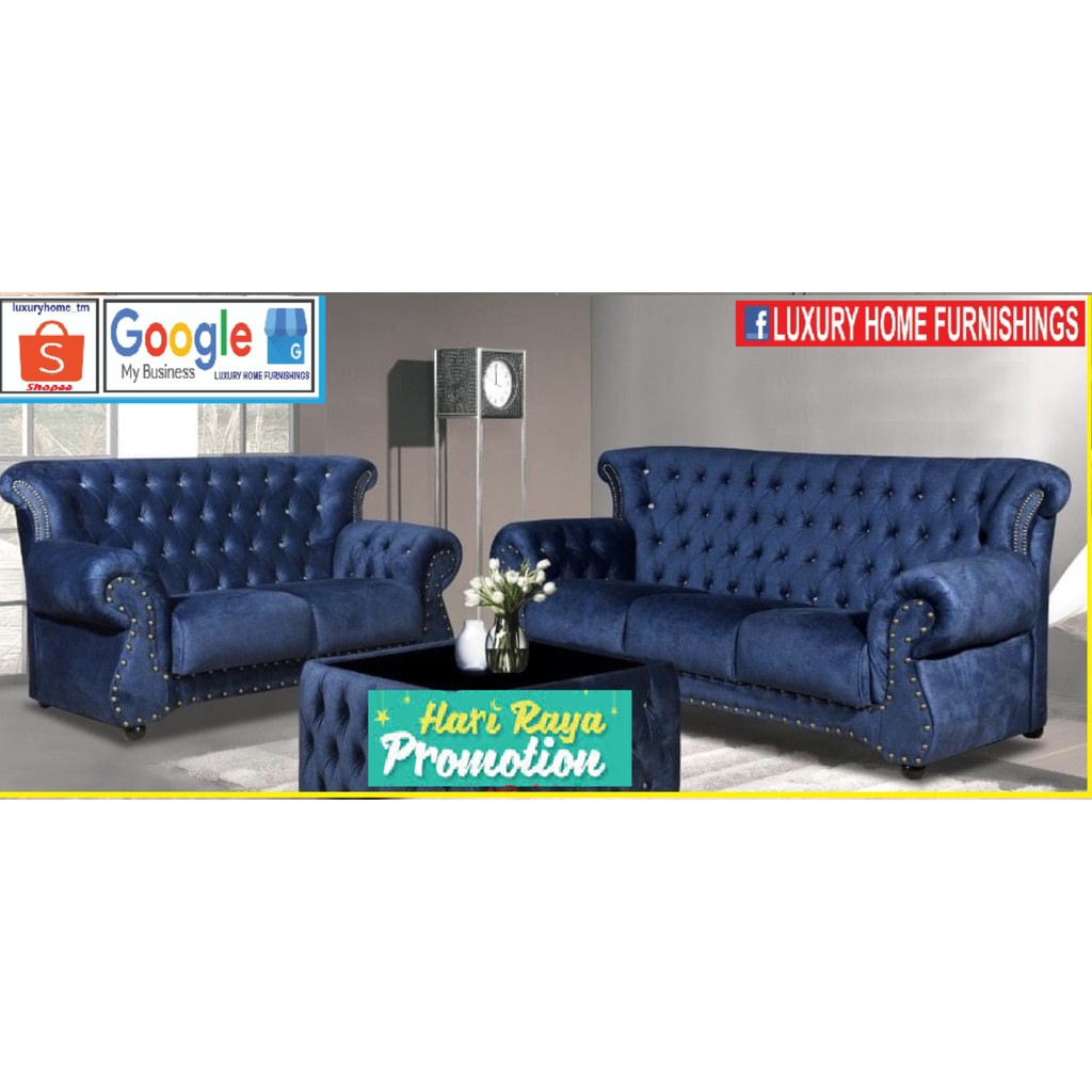 Nottingham, CHESTERFIELD SERIES SOFA, !! 2 + 3 Seater, RM 6,349!! Exclusive HARI RAYA PROMOTION, SAVE 40%!!