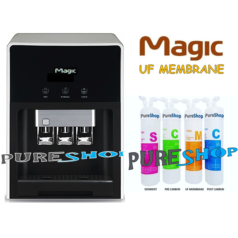 Korea Genuine MAGIC Filter Cartridge Water Dispenser Purifier UF Alkaline LG