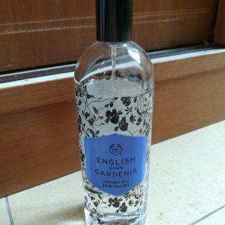 The Body Shop Perfume english dawn gardenia fragrance mist