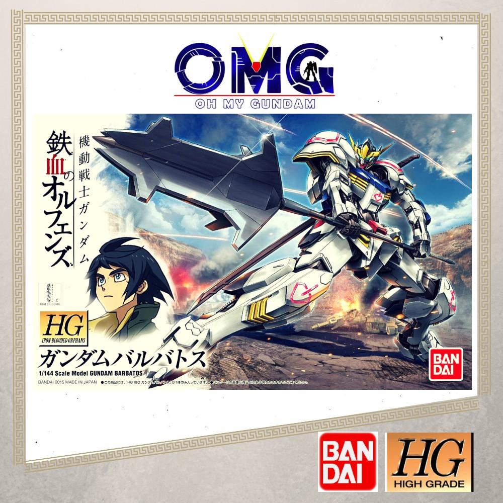 Bandai Hg Barbatos Gundam 57977 1 144 Omg High Grade 1 144 Iron Blooded Orphans Hg Gundam Barbatos Ibo Barbatos Shopee Malaysia