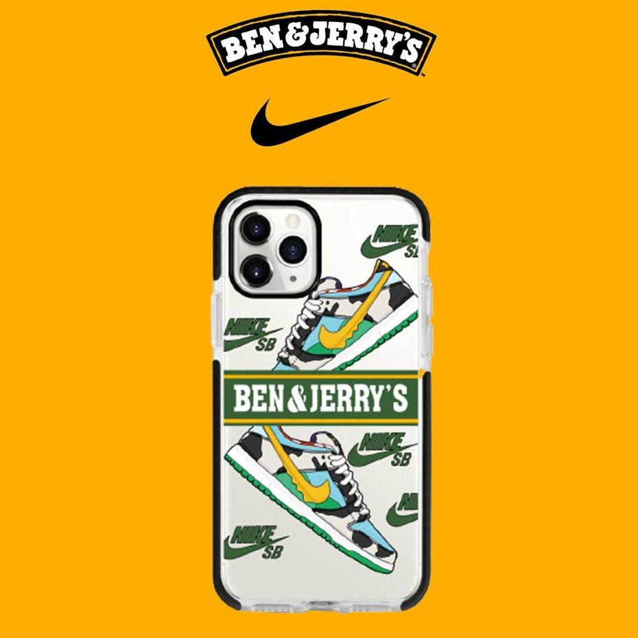 BenJerry (Black Border) IMD Soft Case Iphone 6 6PLUS 7 8 7PLUS 8PLUS X XR XSMAX  11 11PRO 11PRO MAX 12MINI 12PRO MAX