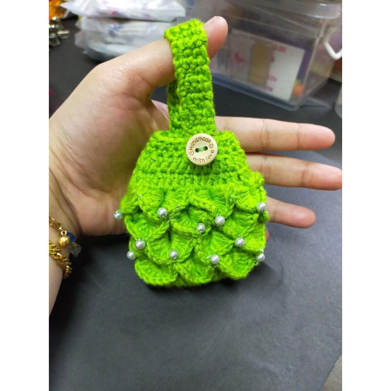 Hand Sanitizer Holder Crochet Ready stock
