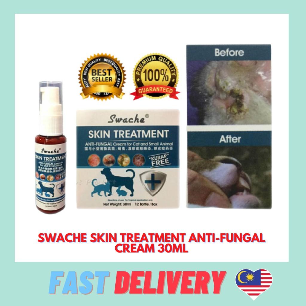 Swache Skin Treatment / Anti-Fungal Cream (Dog, Cat, Small Animal) 30ML