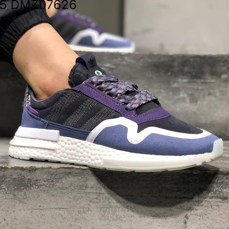 645907619 Adidas Zx 500 RM COMMONWEALT running shoes 100% genuine size: 36-44