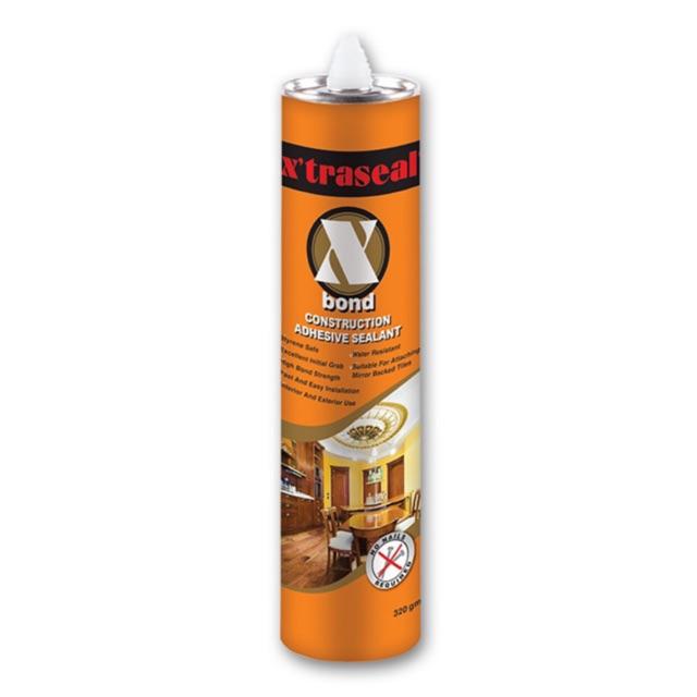 X'traseal 300ML X'Bond Construction Adhesive Sealant (Brown)