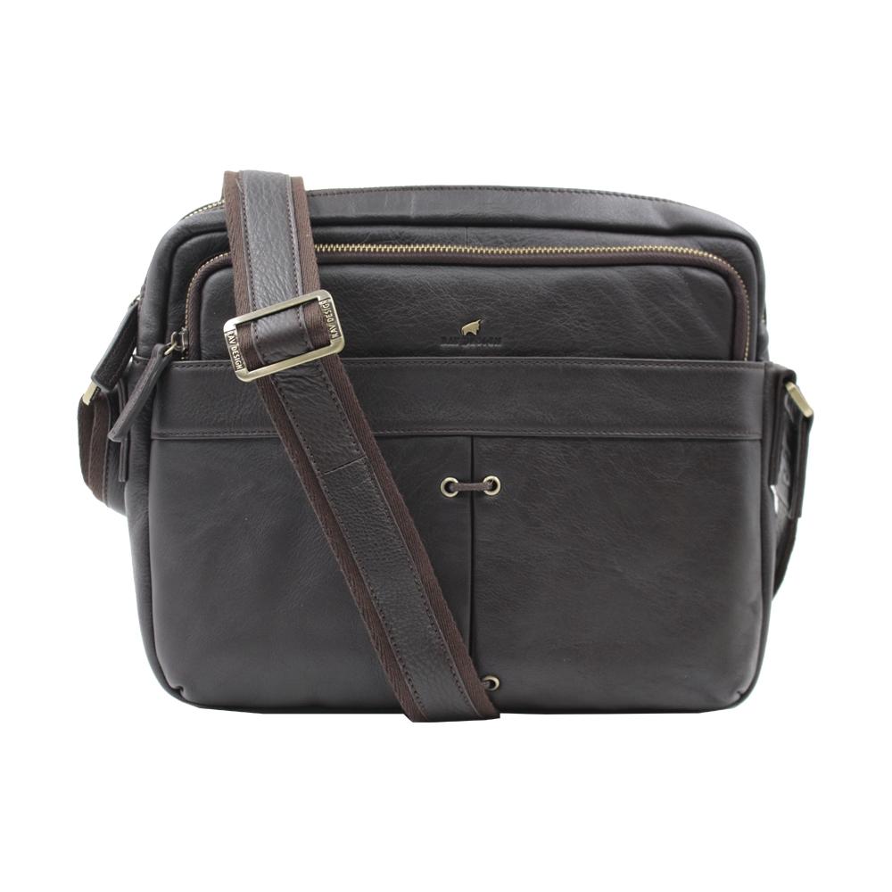 RAV DESIGN Men's Genuine Leather Messenger Bag |RVC472G2