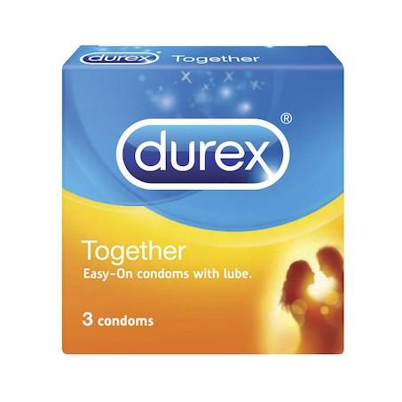 Durex Together Condom 3s