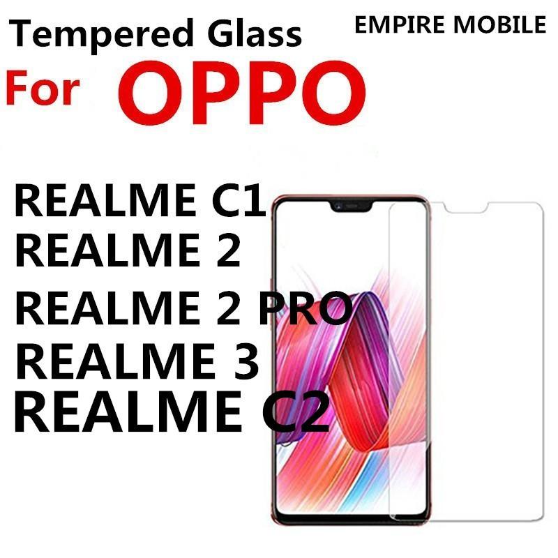 OPPO REALME C1 C2 REALME 2 / 2 PRO REALME 3 Tempered Glass Screen Protector