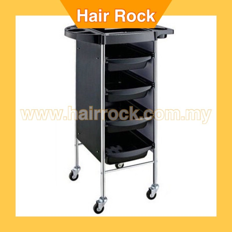 Salon Trolley 4 Tier Storage Rolling Carts - Model Q16