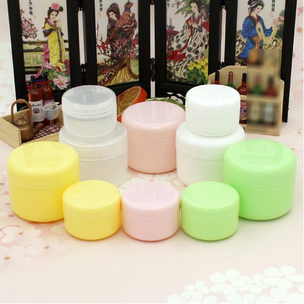 d697212a38e3 30g Plastic Empty Makeup Jar Pot Refillable Sample bottles Travel Face  Cream Lotion Cosmetic Container