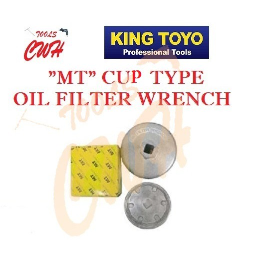 MTCW-XX *MT* CUP TYPE OIL FILTER WRENCH 67MM 90MM 64MM 73MM 80MM 76MM