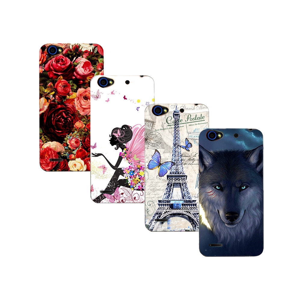 sports shoes 97591 783c0 Soft Tpu Phone Case For ZTE Blade A475 A512 A310 S6 Flex Cover Painting Case
