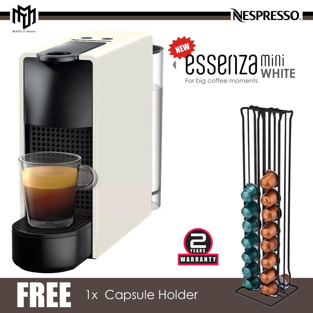 12.12 Nespresso C30-ME-WH-NE Essenza Mini Coffee Machine White