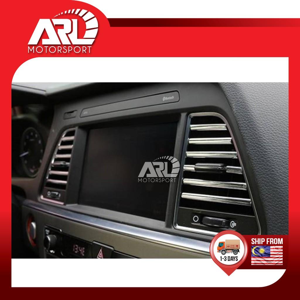 Toyota / Honda / Nissan / Proton / Perodua Universal Aircond Lining Chrome Car Auto Acccessories ARL Motorsport